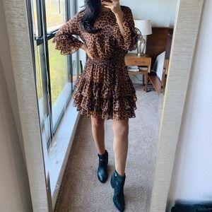 Fate Cheetah Print Dress size M